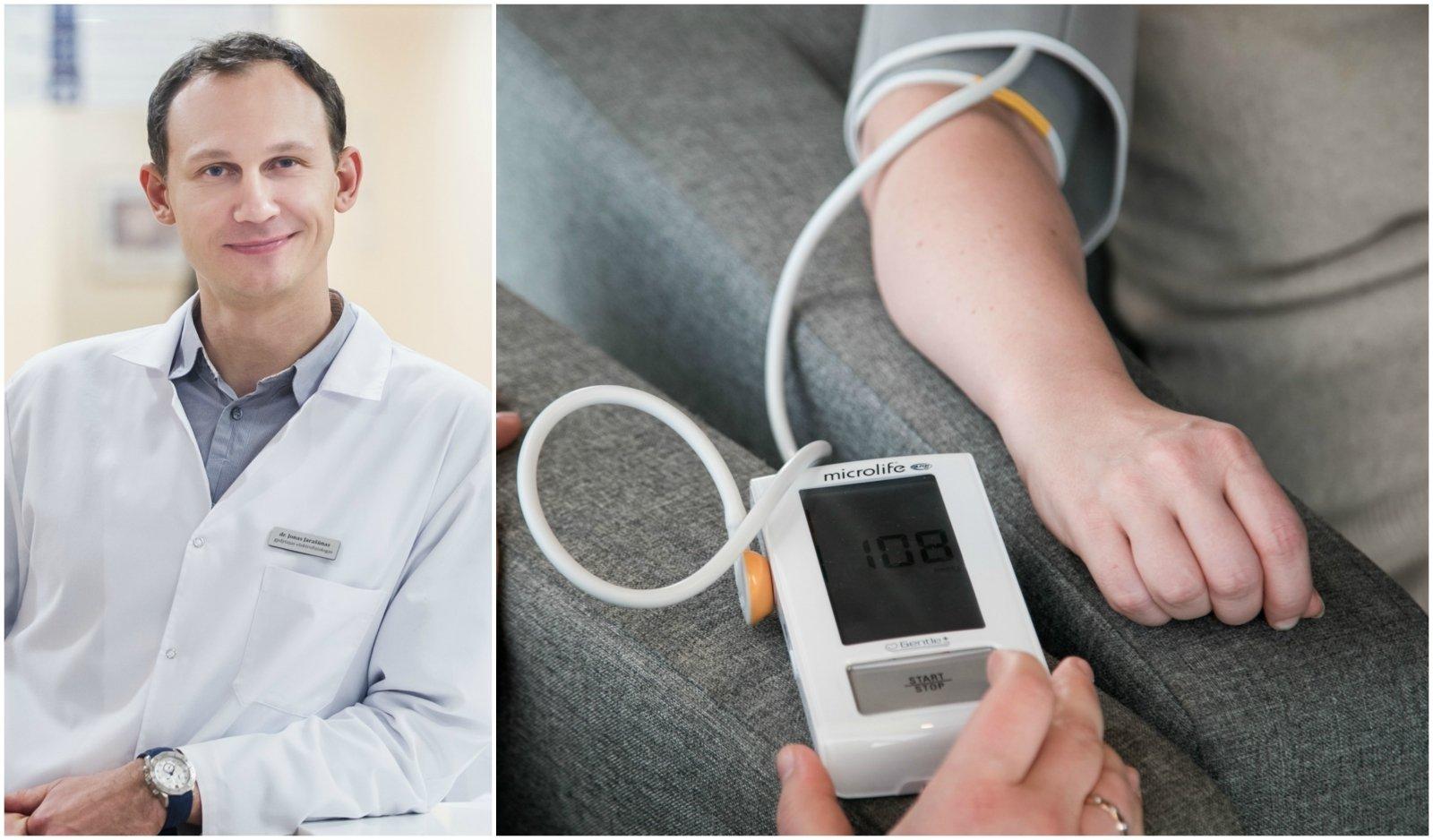 kovos su hipertenzija metai