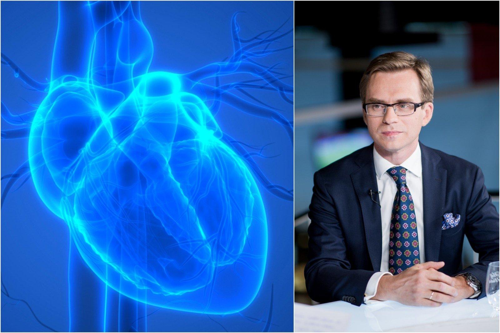 sveikatos programų širdies ritmas hipertenzija ir nervų gydymas