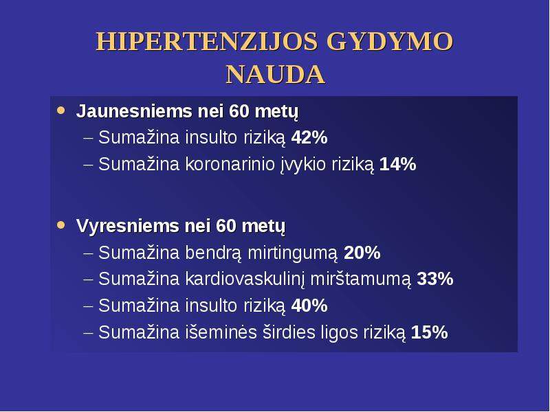 2 stadija su hipertenzija ar įmanoma išgydyti 2 laipsnio hipertenziją