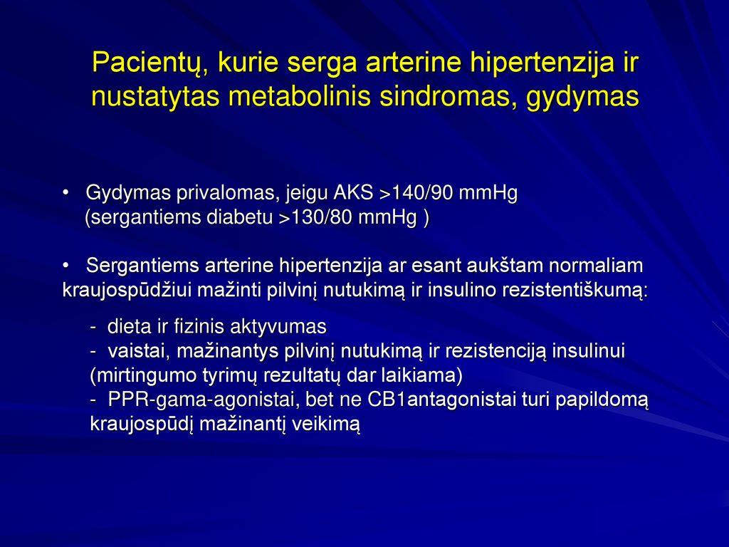 vaistas nuo hipertenzijos nutukimui
