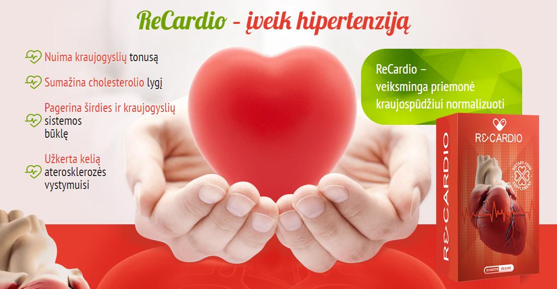 atsikratyti hipertenzijos; mažinti slėgį be vaistų