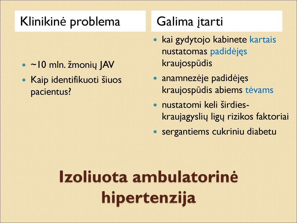 nervai su hipertenzija ką rekomenduojama valgyti sergant hipertenzija