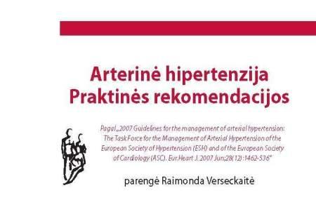 geriausia knyga apie hipertenzija tiroksinas ir hipertenzija
