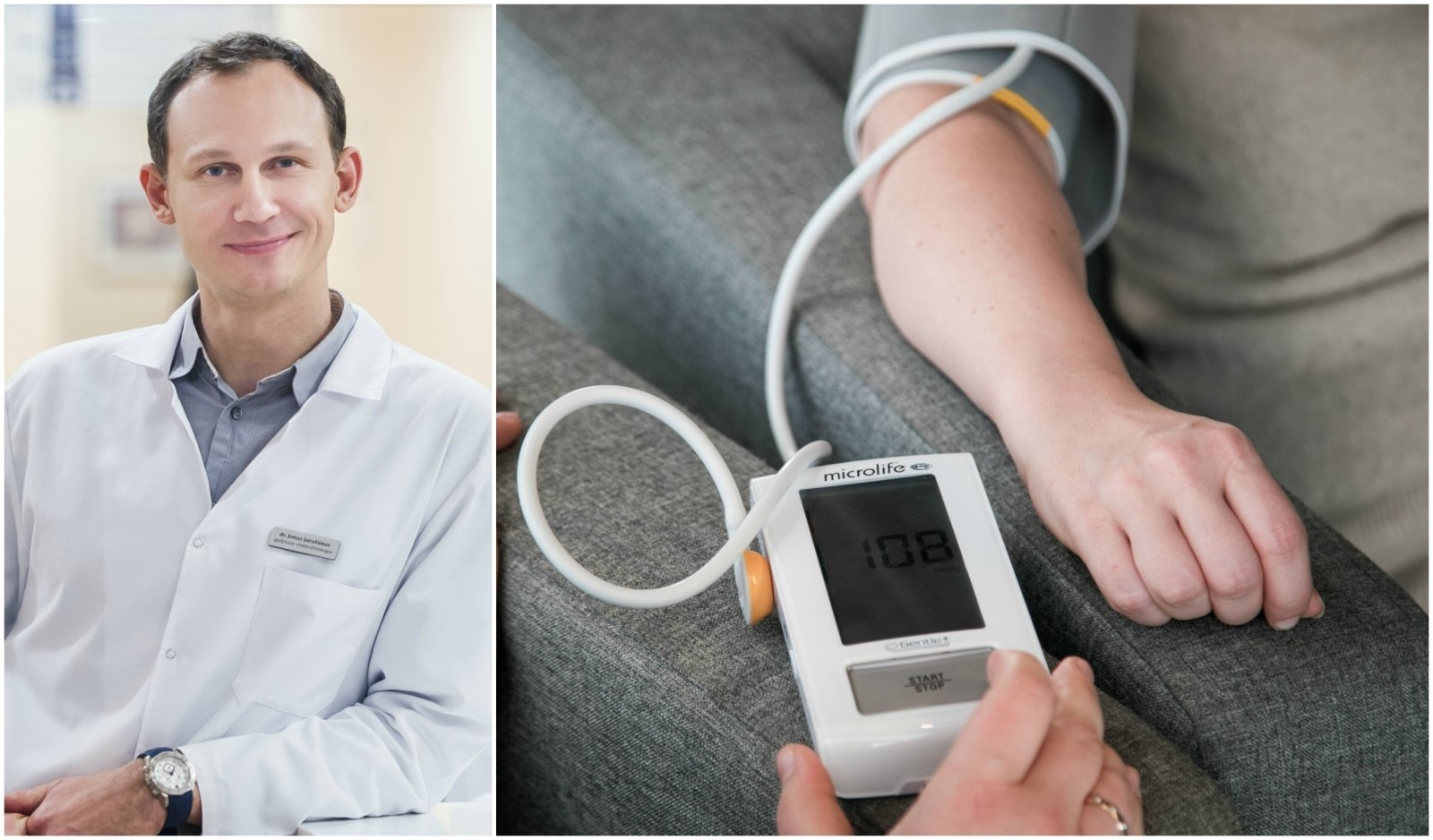 hipertenzija, kaip su ja kovoti
