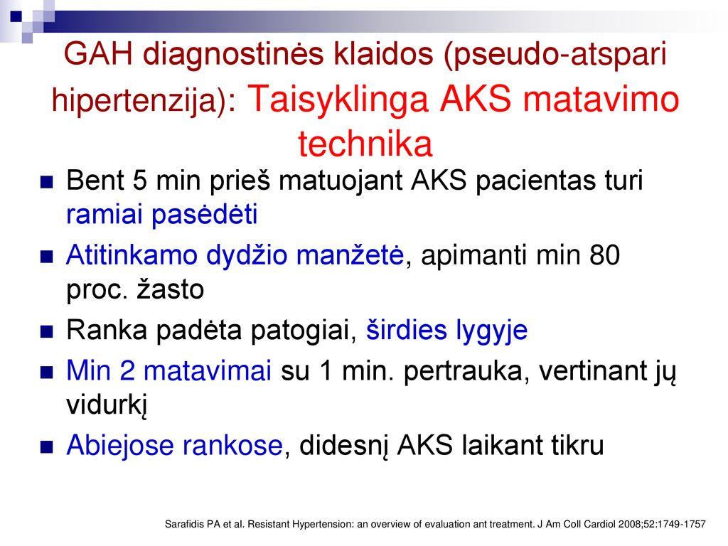 3 laipsnio hipertenzija, kaip apibrėžta