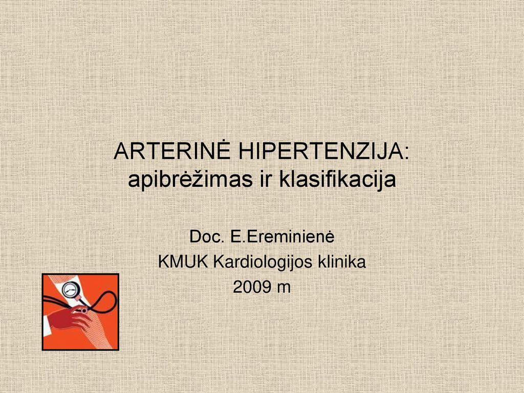 hipertenzijos ligos statistika