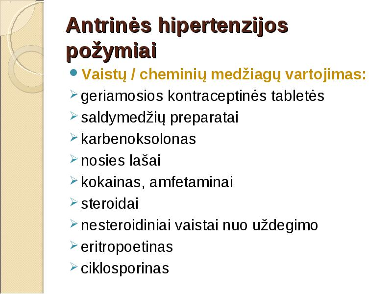 hipertenzijos priepuoliai ir jiems skirta greitoji pagalba