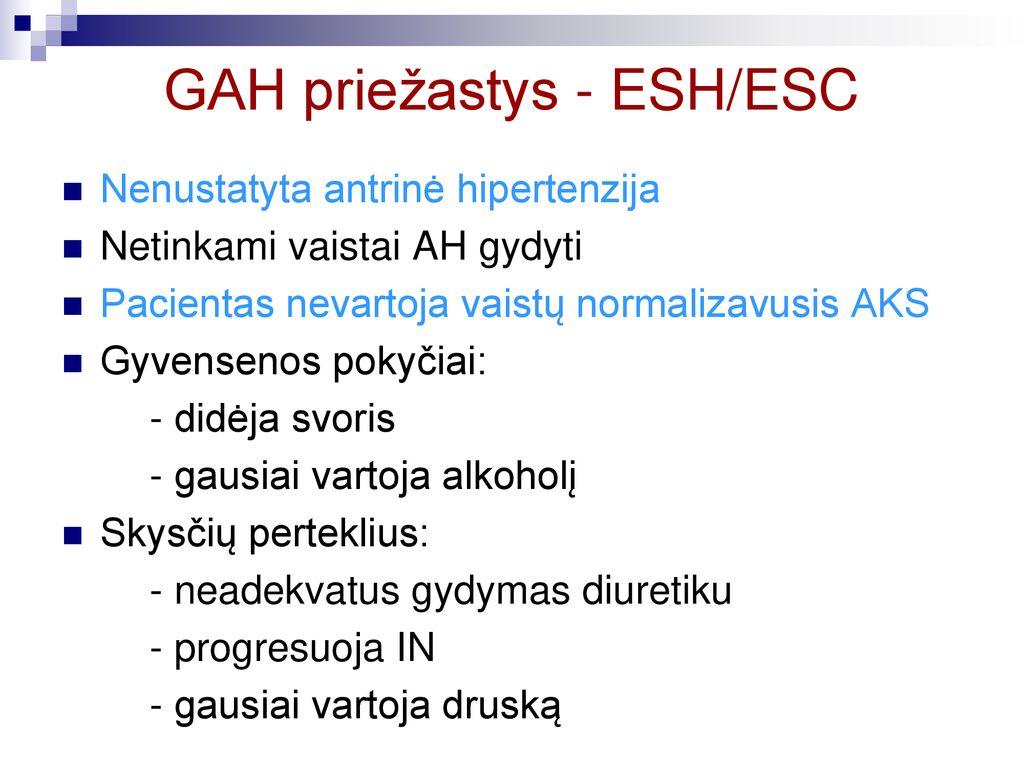 inkstų slėgio hipertenzija