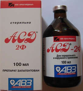 ASD 2 režimas hipertenzijai gydyti