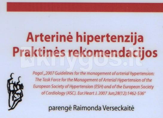vyrų hipertenzijos ypatumai