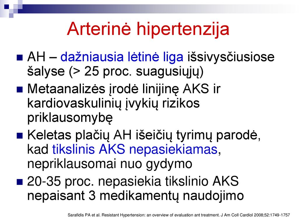 hipertenzija ir hormonai