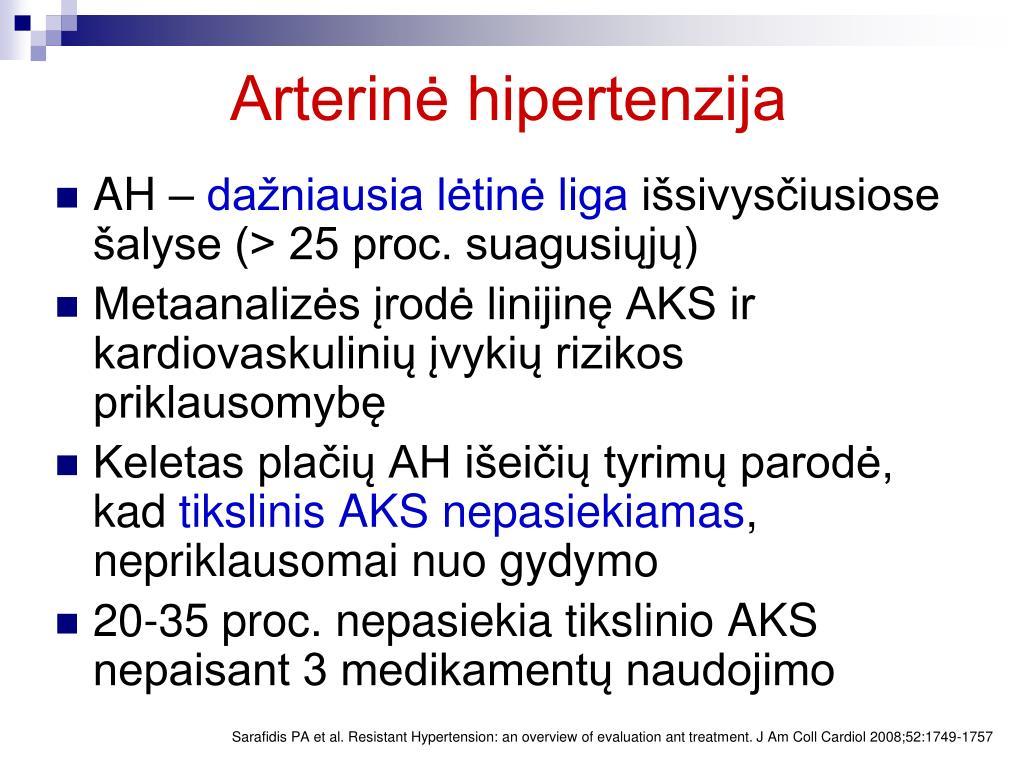 hipertenzija nėra hospitalizuota nėra didelė hipertenzija