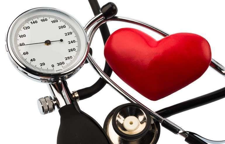 hipertenzija, o tai reiškia mažesnį slėgį