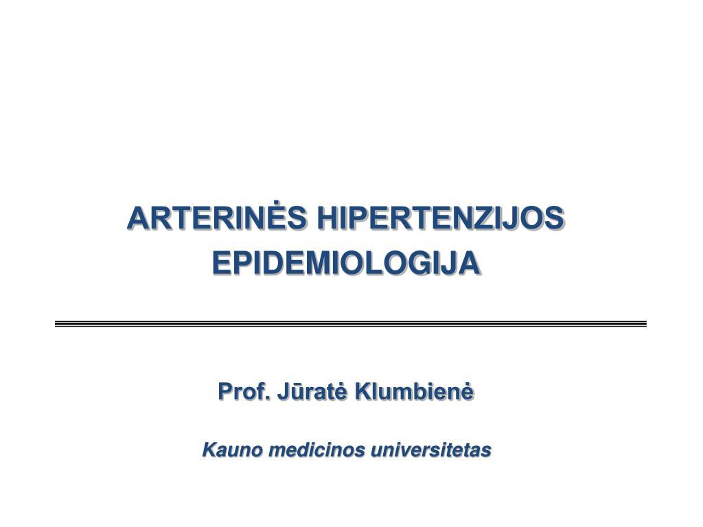 hipertenzijos gydymo medicinos centrai
