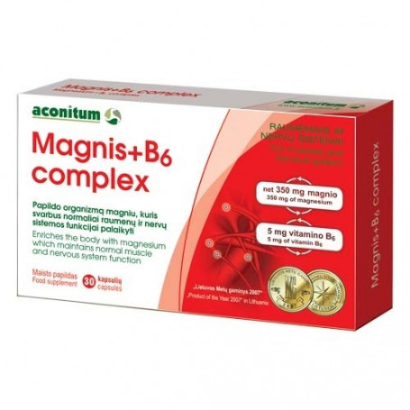 magnis b-6 hipertenzijai gydyti hipertenzijos vaistai pagyvenusiems žmonėms