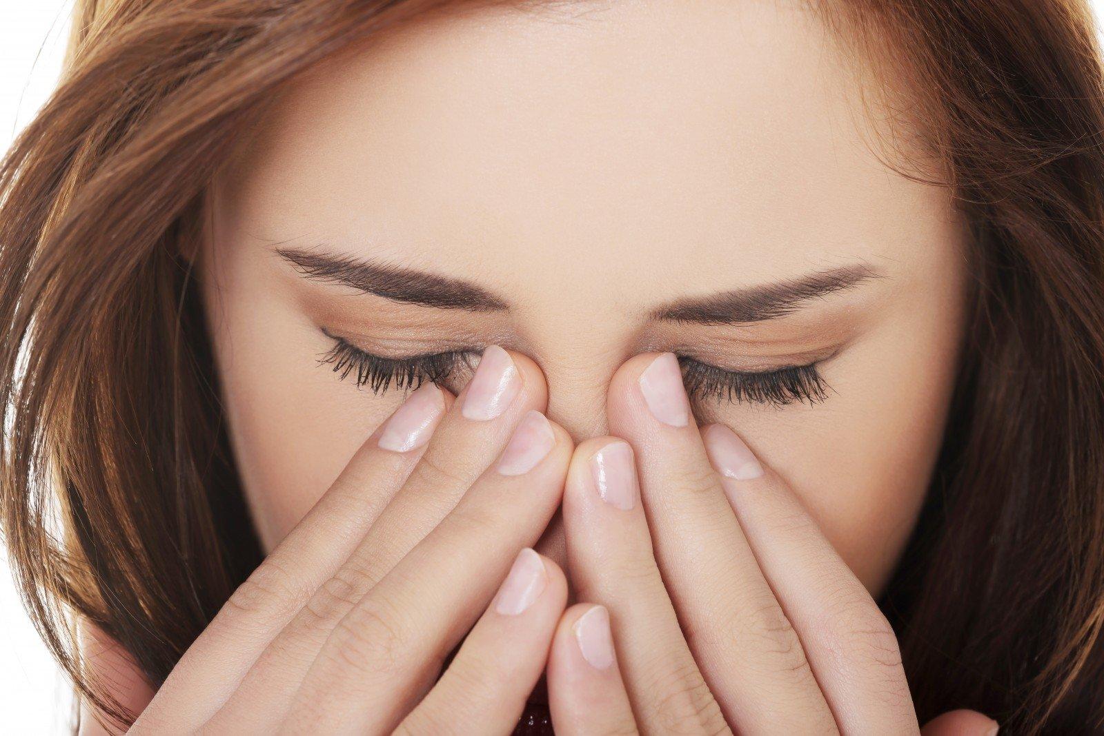 taškai ant akių su hipertenzija