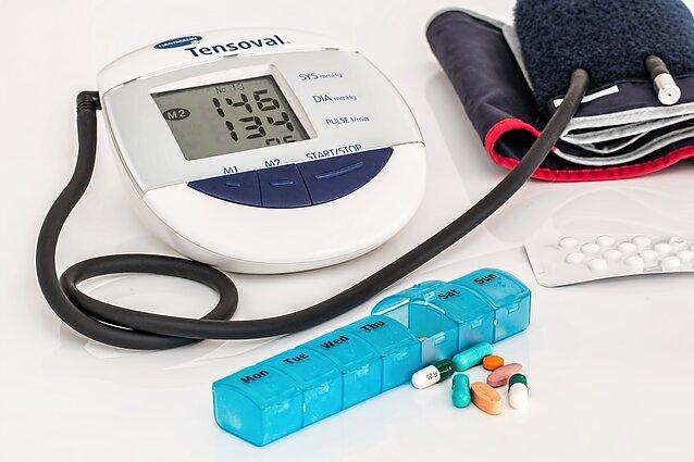 hipertenzija kaip mušti