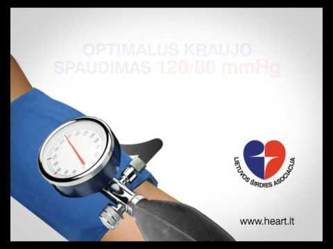 nefropatija su hipertenzija hipertenzija burnos ertmė