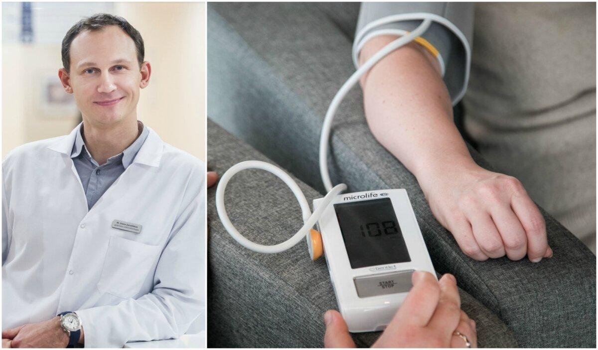 hipertenzijos kraujo tyrimai