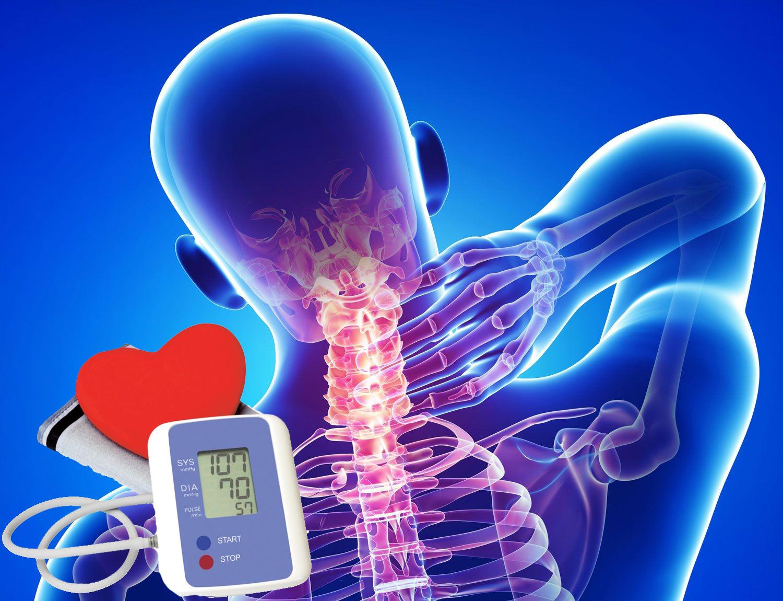 hipertenzijos ir osteochondrozės simptomai raudoni skruostai su hipertenzija
