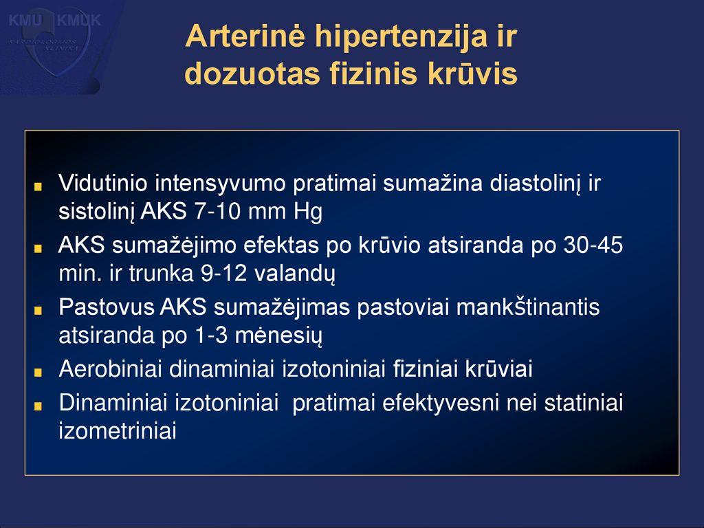 hipertenzijos 2 laipsnio simptomai ir kardiologo patarimai dėl hipertenzijos gydymo