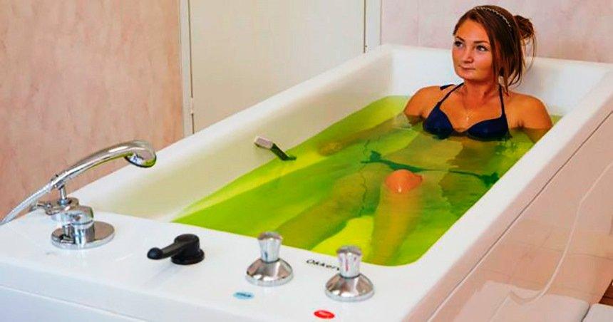 hipertenzijos terpentino vonios